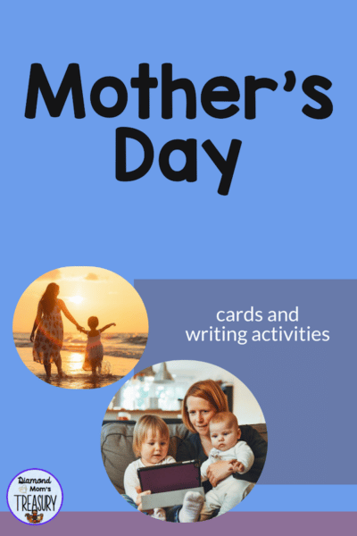 This includes a special writing paper to share thoughts and memories of a special lady. It comes with a Mother's Day card cover as well. #mothersday #speciallady #freecard