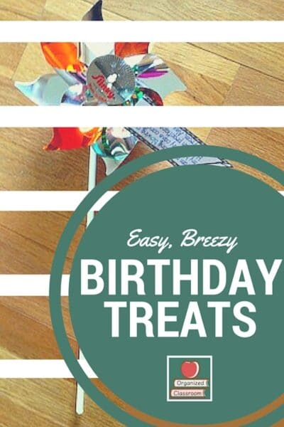 Non Food Birthday Treats for All!