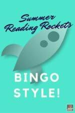 Summer Reading Bingo Board!