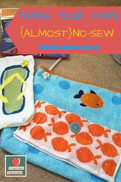 Virtually No Sew Book Totes!