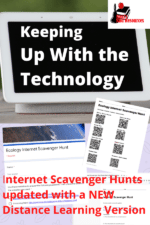 Technology gets outdated so fast! Raki's Rad Resources has now updated all of the free internet scavenger hunts for distance learning