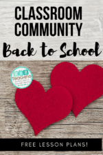 Classroom Community Back to School starting from the Heart!