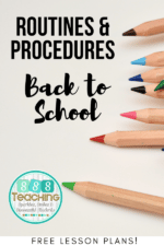 The best brain ideas for establishing routines and procedures for Back to School 2020