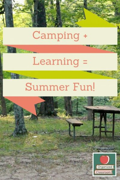 Camping Equals Summer Learning!
