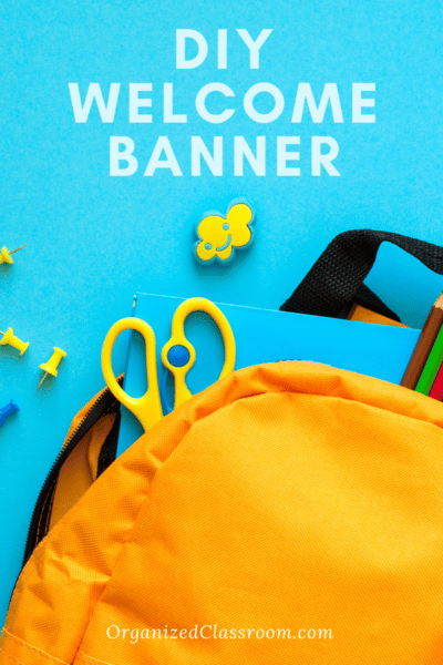 Free Welcome Back Banner for School