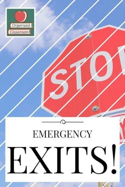Free Exit Slip Assessments