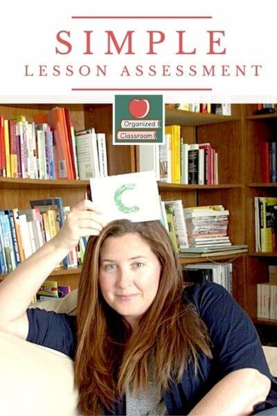 Quick Lesson Assessment Freebie