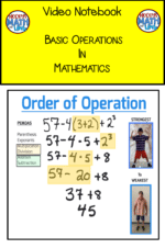 Free Video Notebook for Basic Operations in Math