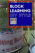 Creative Writing Bucket Label