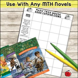 Magic Tree House Book Comparison free Terri's Teaching Treasures