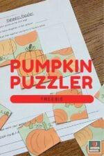 Fun Fall Puzzle
