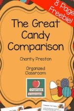 Leftover Candy Classroom Activities