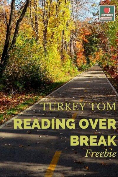Thanksgiving Break Reading Log