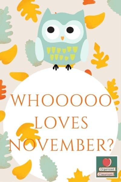 OWL You Ready for November?