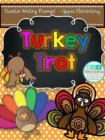 Turkey Trot – Fun Creative Writing Prompt for November