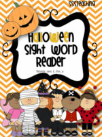 Boo! A HALLOWEEN SIGHT WORD READER for YOU!