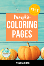 The Best FREE fall pumpkin coloring pdf pages to print