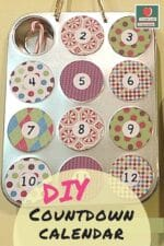 Muffin Tin Countdown Calendar