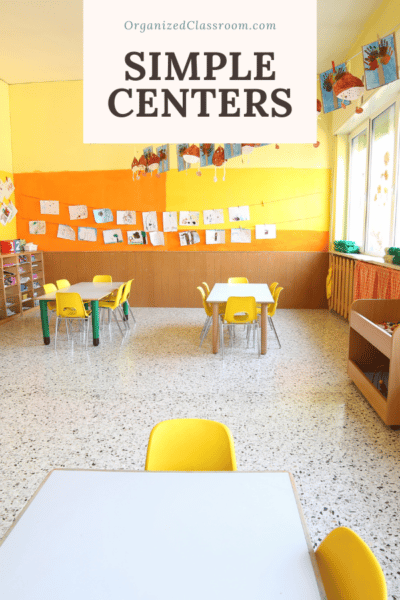 Easy Math or Reading Center