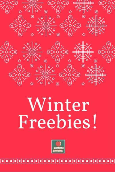 December Calendar and Banner Freebies!