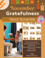 Cultivate Gratitude with November's Word Scramble