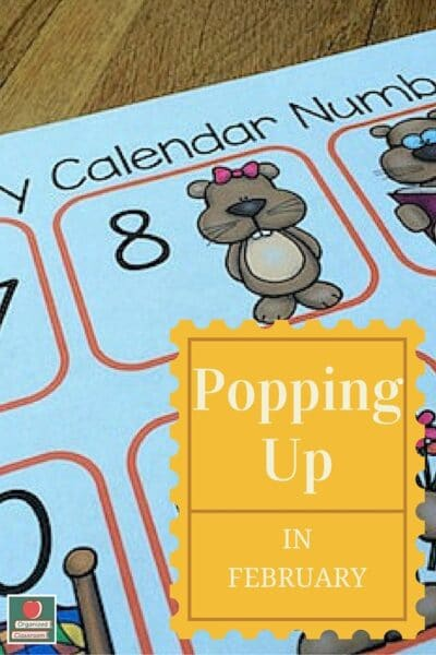 Groundhog Calendar Cards