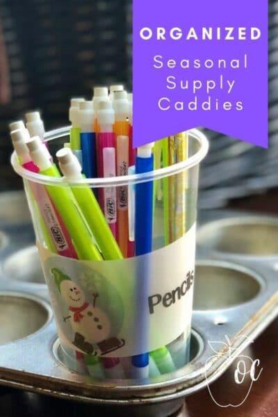 Individual Supply Caddies