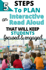5 Steps To Plan An Interactive Read Aloud Lesson (That Are Easy To Implement)!