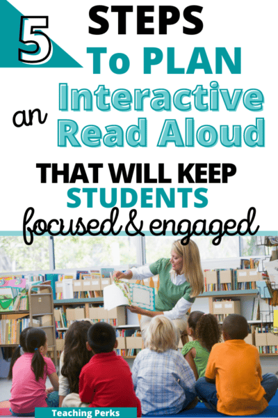 how to plan an interactive read aloud