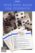 Team Building Dice Game for Students