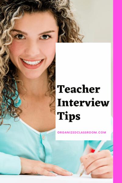 Tips for Teacher Interviews