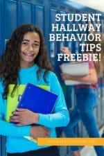 Student Behavior Hallway Helper