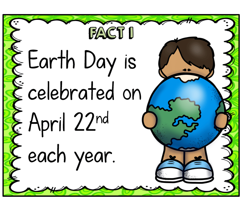 Earth Day ELA REVIEW TESTING ACTIVITY