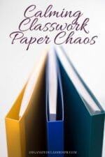 Classroom Paperwork Solution