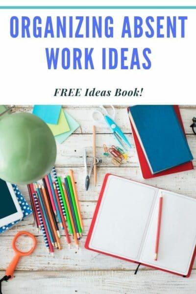 Student Absent Work Organization