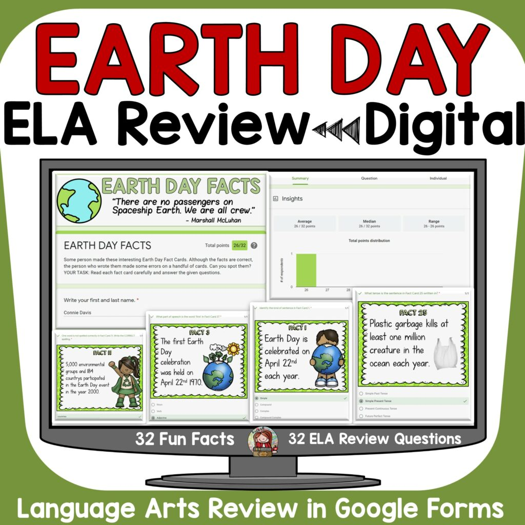 Earth Day State Testing Review Activity
