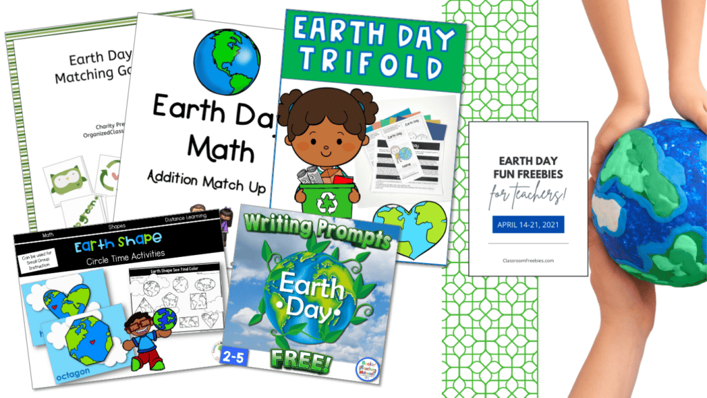 Earth Day Freebie Fun for Teachers