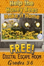 Honey Bees Digital Escape Room