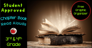 3rd and 4th grade read aloud list with free book review graphic organizer Terri's Teaching Treasures