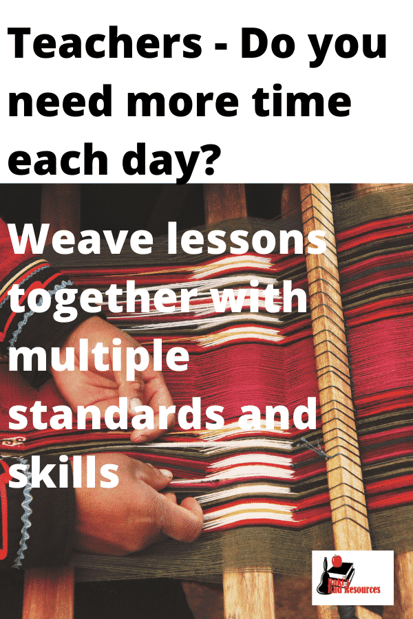 Integrate multiple standards to get more from each lesson